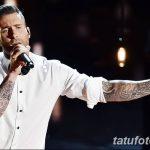 Фото Тату Адама Левина от 21.09.2018 №020 - Adam Levine tattoo - tatufoto.com