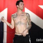 Фото Тату Адама Левина от 21.09.2018 №021 - Adam Levine tattoo - tatufoto.com