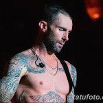 Фото Тату Адама Левина от 21.09.2018 №022 - Adam Levine tattoo - tatufoto.com