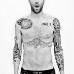 Фото Тату Адама Левина от 21.09.2018 №024 - Adam Levine tattoo - tatufoto.com
