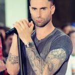 Фото Тату Адама Левина от 21.09.2018 №026 - Adam Levine tattoo - tatufoto.com