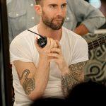 Фото Тату Адама Левина от 21.09.2018 №039 - Adam Levine tattoo - tatufoto.com