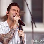 Фото Тату Адама Левина от 21.09.2018 №041 - Adam Levine tattoo - tatufoto.com