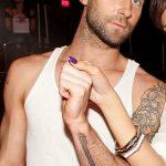 Фото Тату Адама Левина от 21.09.2018 №064 - Adam Levine tattoo - tatufoto.com