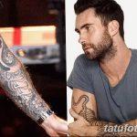Фото Тату Адама Левина от 21.09.2018 №070 - Adam Levine tattoo - tatufoto.com
