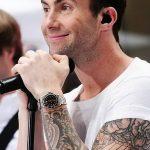 Фото Тату Адама Левина от 21.09.2018 №073 - Adam Levine tattoo - tatufoto.com