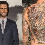 Фото Тату Адама Левина от 21.09.2018 №099 - Adam Levine tattoo - tatufoto.com