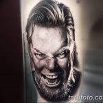 Фото Тату Джеймса Хэтф от 10.09.2018 №043 - James Hatfield Tattoo - tatufoto.com