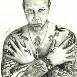 Фото Тату Джеймса Хэтф от 10.09.2018 №068 - James Hatfield Tattoo - tatufoto.com