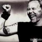 Фото Тату Джеймса Хэтф от 10.09.2018 №078 - James Hatfield Tattoo - tatufoto.com