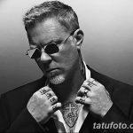 Фото Тату Джеймса Хэтф от 10.09.2018 №093 - James Hatfield Tattoo - tatufoto.com