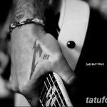 Фото Тату Джеймса Хэтф от 10.09.2018 №107 - James Hatfield Tattoo - tatufoto.com