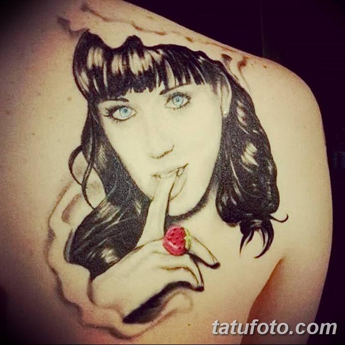 Фото Тату Кэти Перри от 12.09.2018 №006 - Katy Perry Tattoos - tatufoto.com