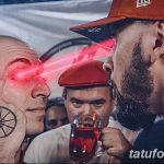 Фото Тату Оксимирона от 18.09.2018 №020 - Oxyimiron Tattoo - tatufoto.com