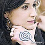 Фото Тату Тины Канделаки на руке от 21.09.2018 №003 - Tattoo of Tina Kan - tatufoto.com