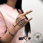 Фото Тату Тины Канделаки на руке от 21.09.2018 №009 - Tattoo of Tina Kan - tatufoto.com