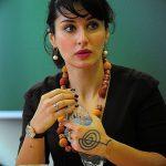 Фото Тату Тины Канделаки на руке от 21.09.2018 №020 - Tattoo of Tina Kan - tatufoto.com