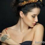 Фото Тату Тины Канделаки на руке от 21.09.2018 №027 - Tattoo of Tina Kan - tatufoto.com
