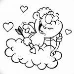 Фото Эскиз тату купидон от 11.09.2018 №049 - Sketch of tattoo cupid - tatufoto.com