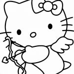 Cupid Drawing Cartoon Hello Kitty Valentine's Day Cupid Co