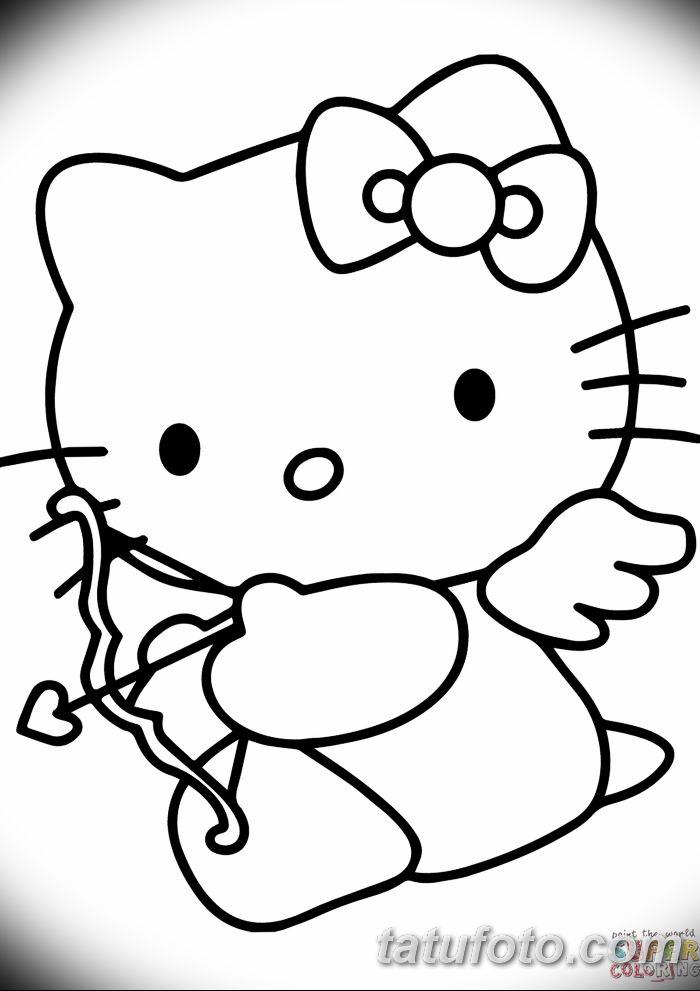 Cupid Drawing Cartoon Hello Kitty Valentine's Day Cupid Co - tatufoto.com