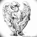 Фото Эскиз тату купидон от 11.09.2018 №103 - Sketch of tattoo cupid - tatufoto.com