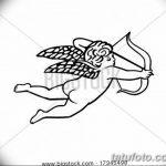 Фото Эскиз тату купидон от 11.09.2018 №120 - Sketch of tattoo cupid - tatufoto.com