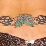 30 Sexy Lower Back Tattoos For Girls with regard to The Brillian