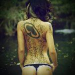 Фото сексуальные татуировки от 15.09.2018 №070 - sexy tattoos - tatufoto.com