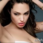 Angelina Jolie Sexy Tattoos And Their Meanings regarding Angelin