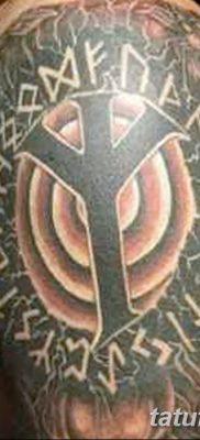 Фото татуировки Руна Мир от 24.09.2018 №014 – tattoo rune world – tatufoto.com