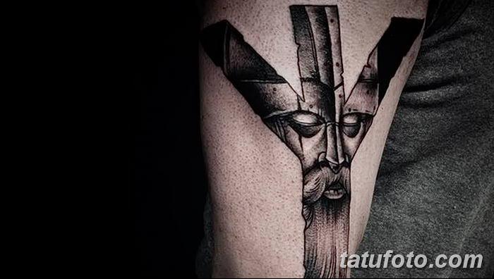 Фото татуировки Руна Мир от 24.09.2018 №019 - tattoo rune world - tatufoto.com
