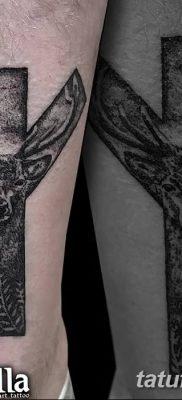 Фото татуировки Руна Мир от 24.09.2018 №022 – tattoo rune world – tatufoto.com