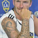 Фото тату Дэвида Бекхэма от 17.09.2018 №007 - tattoo of David Beckham - tatufoto.com