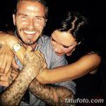 Фото тату Дэвида Бекхэма от 17.09.2018 №008 - tattoo of David Beckham - tatufoto.com
