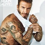 Фото тату Дэвида Бекхэма от 17.09.2018 №009 - tattoo of David Beckham - tatufoto.com