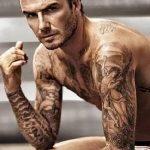 Фото тату Дэвида Бекхэма от 17.09.2018 №034 - tattoo of David Beckham - tatufoto.com