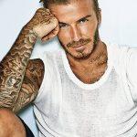 Фото тату Дэвида Бекхэма от 17.09.2018 №042 - tattoo of David Beckham - tatufoto.com