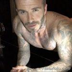 Фото тату Дэвида Бекхэма от 17.09.2018 №053 - tattoo of David Beckham - tatufoto.com