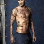 Фото тату Дэвида Бекхэма от 17.09.2018 №055 - tattoo of David Beckham - tatufoto.com