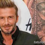 Фото тату Дэвида Бекхэма от 17.09.2018 №058 - tattoo of David Beckham - tatufoto.com