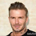 Фото тату Дэвида Бекхэма от 17.09.2018 №062 - tattoo of David Beckham - tatufoto.com