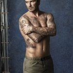 Фото тату Дэвида Бекхэма от 17.09.2018 №078 - tattoo of David Beckham - tatufoto.com