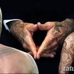 Фото тату Дэвида Бекхэма от 17.09.2018 №081 - tattoo of David Beckham - tatufoto.com