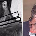 Фото тату Дэвида Бекхэма от 17.09.2018 №091 - tattoo of David Beckham - tatufoto.com