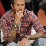 Фото тату Дэвида Бекхэма от 17.09.2018 №099 - tattoo of David Beckham - tatufoto.com