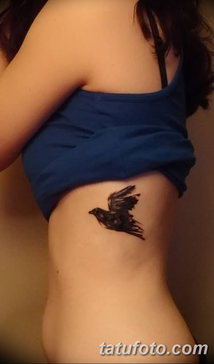 Фото тату ворон от 15.09.2018 №012 - raven tattoos - tatufoto.com