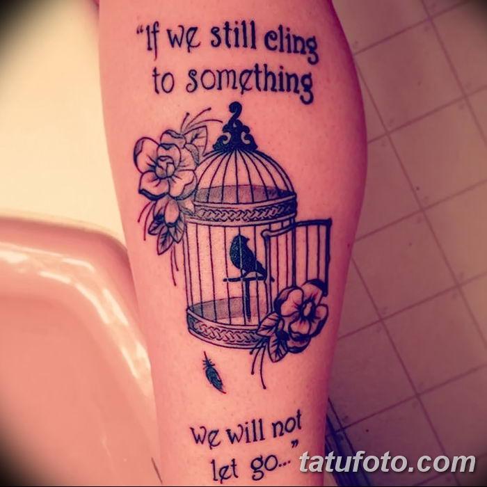 Фото тату ворон от 15.09.2018 №013 - raven tattoos - tatufoto.com