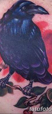 Фото тату ворон от 15.09.2018 №115 – raven tattoos – tatufoto.com