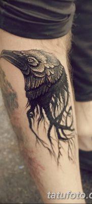 Фото тату ворон от 15.09.2018 №121 – raven tattoos – tatufoto.com